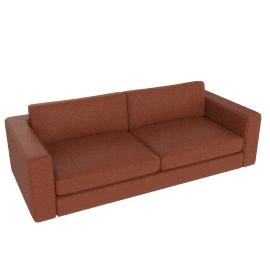 """Reid 86"""" Sofa in leather, cognac"""