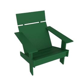 Lollygagger Lounge Chair, British Green