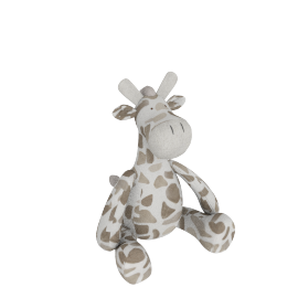 Ollie Plush Coloured Giraffe - Medium