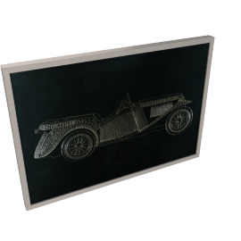 Limo Framed Art - 100x4.7x70 cms