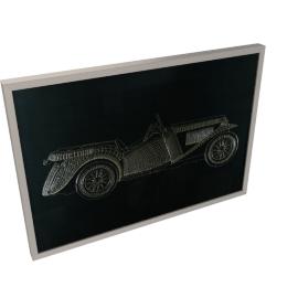 Limo Framed Art - 100x4.7x70 cms
