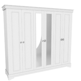 Grandview Five-plus Door Wardrobe