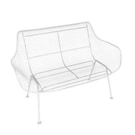 Sculptura Bench, White