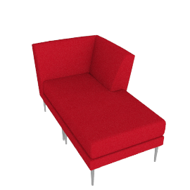Libre Chaise Component - Fabric 2