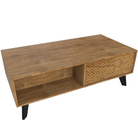 Nomos 1-Drawer Coffee Table
