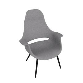 Organic Highback Chair, chocolate.grey