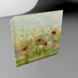 Sue Fenlon- Summer Garden Print on Canvas, 40 x 40cm