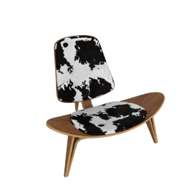 Shell Chair - Walnut - Cowhide - Walnut.Cowhide