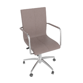 Turin Office Chair, Taupe