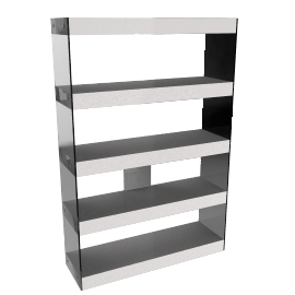 Anton Shelves, White
