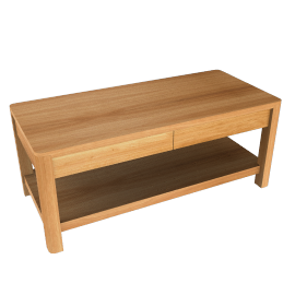 John Lewis Seymour Coffee Table with 2 Drawers