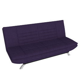 Faith Sofa Bed, Purple