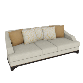 Morocco 3 Seater Natural