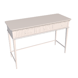 Albany Dressing Table, Buttermilk