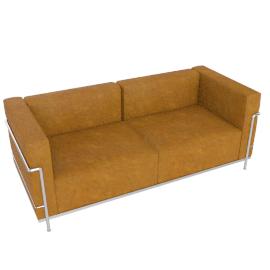 LC3 Grand Modele Two Seat Sofa