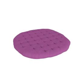 Mabel Round Cushion - 100x100 cms, Purple