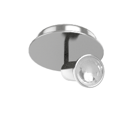 Zyon Single Ceiling Spotlight