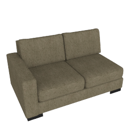 Signature 2 Seater With Left Arm, Camel