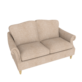 Kingsley Small Sofa, Rivoli Putty