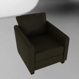 Ophelia Leather Chair, Coffee