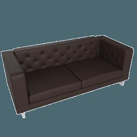 Lasky 3-Seater Sofa, Bronze