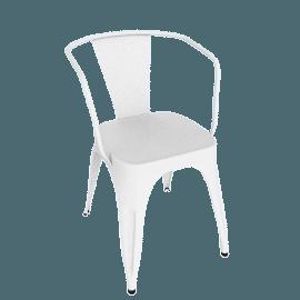 Marais A56 Armchair - White