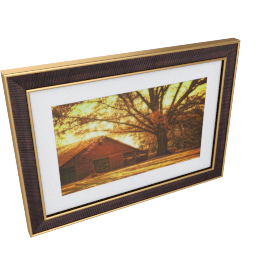 Tree House Picture Frame - 20x28x0.5 inches