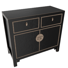 John Lewis Chinese Collection Suri Small SideboardBlack