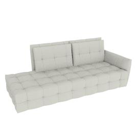 DUVET 2 Seater with 1 armrest (RH)