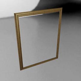 John Lewis Beauchamp Gilt Mirror, 137 x 107cm