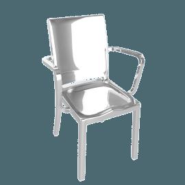 Hudson Armchair - Polished