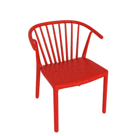 Woody Armchair, Red