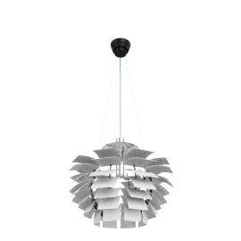 Artichoke Lamp - Large, White - White