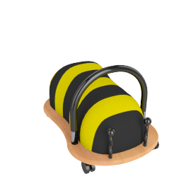 WheelyBug Wheely Bee Ride-on Toy