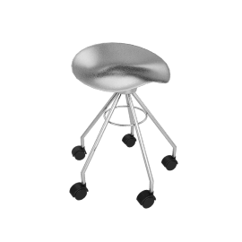 Jamaica® Barstool Low with Castors