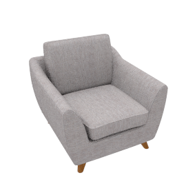 G Plan Vintage The Sixty Seven ArmchairMarl Grey