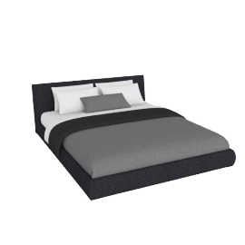 Nest Cal. King Storage Bed