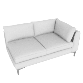 Albert One Arm Sofa Left - Vienna