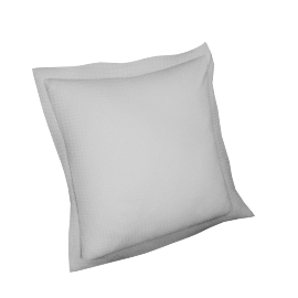 Indulgence 2-piece Cushion Cover Set - 45x45 cms, White