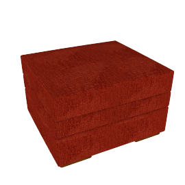 Ashley Footstool, Red