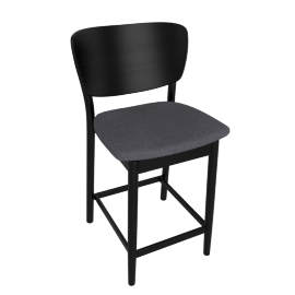 Valencia Counter Stool, Charcoal