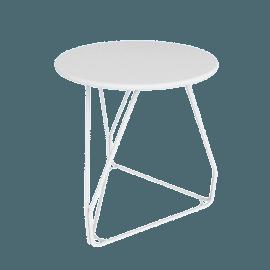 Polygon Wire Table - Small, White