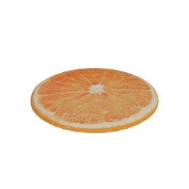Orange Chair Pad