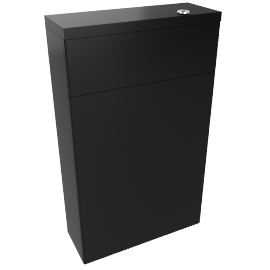 Back to Wall Toilet Unit, black