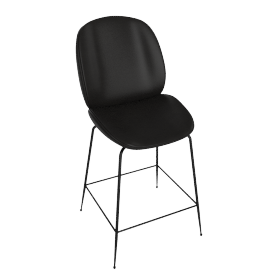 Beetle Counter Stool, Black
