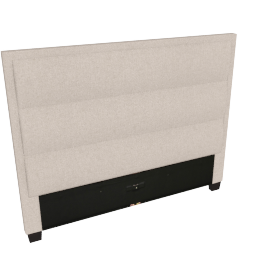 Stellar Ace Queen Headboard, Beige