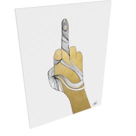 Sign Language IX by KelliEllis - 30''x40'', Gallery wrap