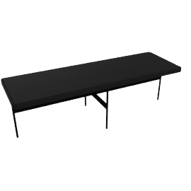 Crossover Rectangular Coffee Table