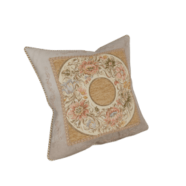 Majolika Jacquard Cushion - 45x45 cms