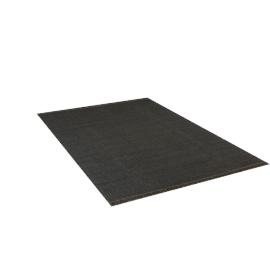 Duotone Rug 6x9, Black Olive